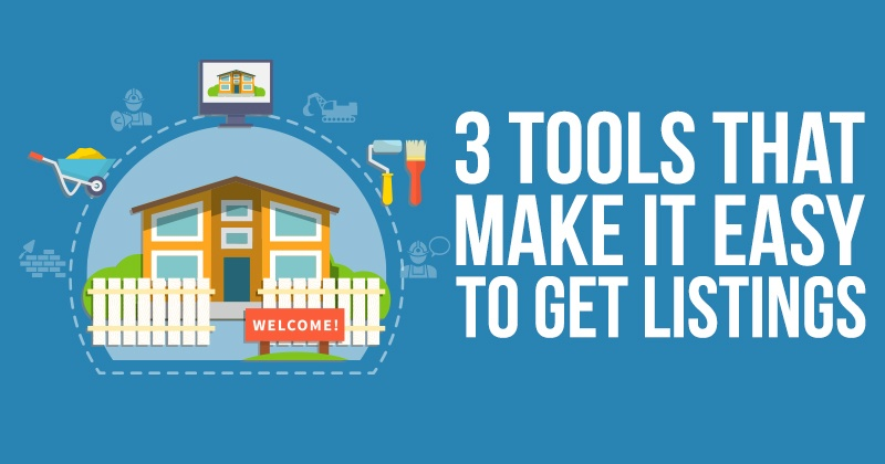 3 Tools That Make It Easy To Get Listings