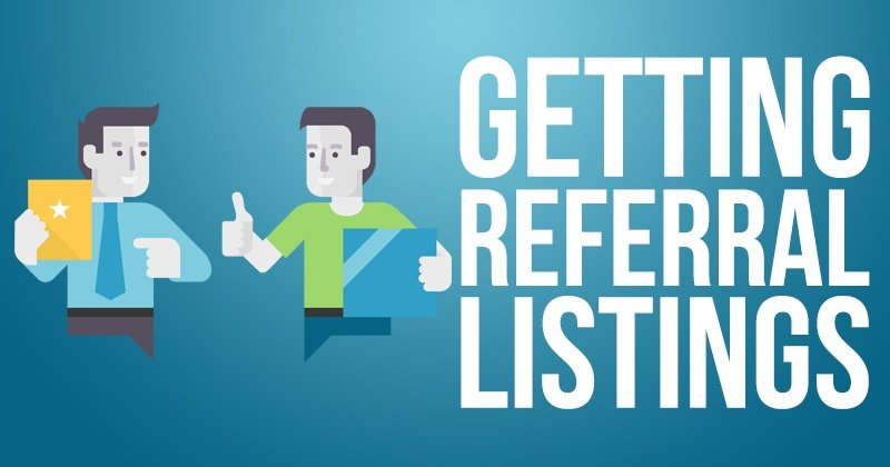 Getting Referral Listings