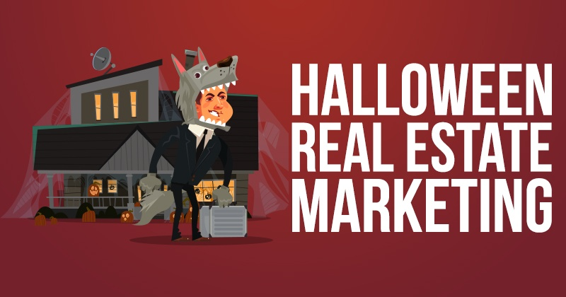 Halloween Real Estate Marketing Ideas