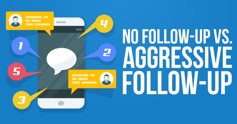"""No Follow-up"" vs. ""Aggressive Follow-up"""