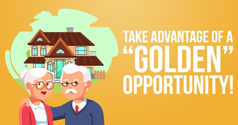 Take Advantage of A Golden Opportunity