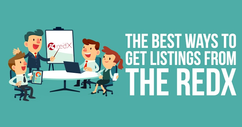 The Best Ways To Get Listings From The Redx